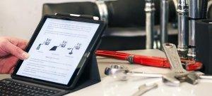 installateur tablet planning