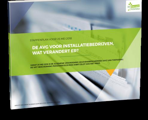 AVG whitepaper voor installatiebedrijven